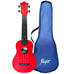 Flight TUS35 Red Travel Soprano Ukulele